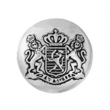 Metall Öseknöpfe Größe 22 mm - antik silber
