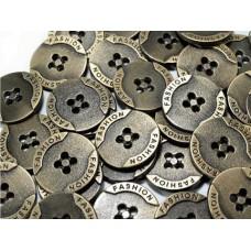 Metallknöpfe Größe 20,3 mm - messing