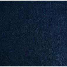 Jeansstoff mit Lurex - dunkel blau