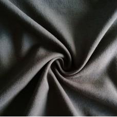 Bedruckter Stoff Baumwolle mit Viskose - grau-braun