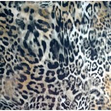 Bedruckter Baunwolle Jersey mit Leopard Print