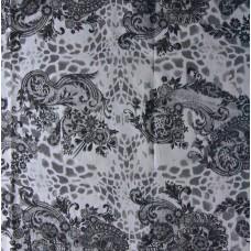 Bedruckter Kleiderstoff aus Viskose mit Seide - II.Wahl (9,50 €/lfm)