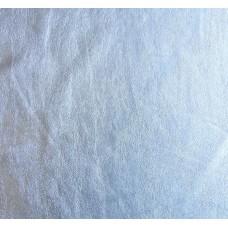 Kunstleder auf der Stoff Grundlage - silber