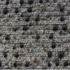 Mantel Walkloden auf der Jersey Grundlage - beige mit braun