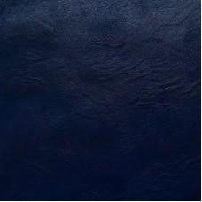Kunstleder auf der Stoff Grundlage - dunkelblau