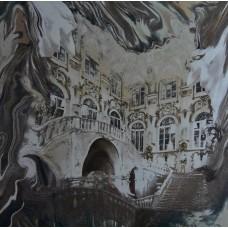 """Bedruckte Naturseide """"Venedig"""""""