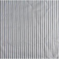 Viskose Futterstoff - weiß gestreift