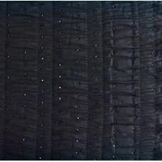 Baumwolle Kleiderstoff mit Stickerei