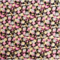 Elastischer Viskose Jersey 160x165 cm (6,00 €/lfm)