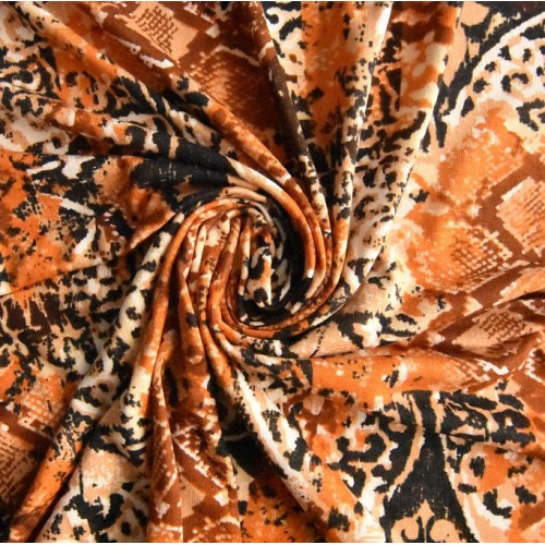 Elastischer Viskose Jersey 160x160 cm (6,00 €/lfm)