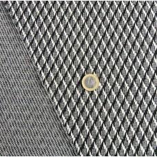 Elastischer Baumwolle mit Wolle Jersey 160x155 cm (6,50 €/lfm)