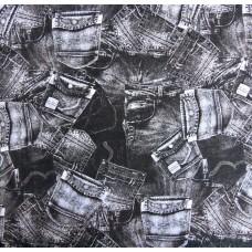 Elastischer Viskose Jersey 125x145 cm (6,00 €/lfm)