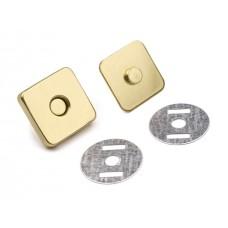 Magnetischer Verschluss viereckig 18x18 mm