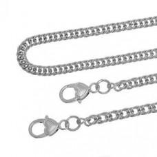 Eisenlegierung Tasche Ketten 9x7 mm 1.2 m
