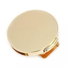 Zinklegierung Drehverschluss für Taschen Vergoldet 52mm x 50mm