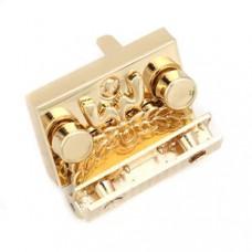 Zinklegierung Drehverschluss für Taschen Vergoldet 32mm x 22mm